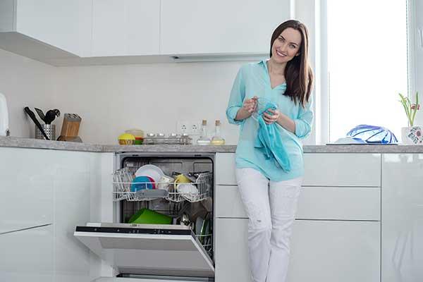 Energy-Efficient Appliances   Dishwasher photo using less energy