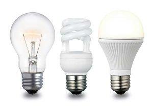 Energy-Efficient CFL Incandescent Light Bulbs - LED image