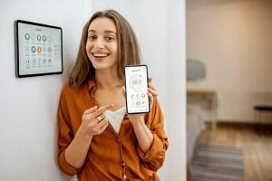 Programmable Thermostat on Phone | Save Energy over wifi
