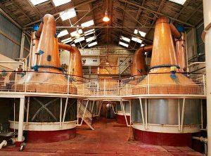 Hydrogen as Fuel for Highland Whisky Distillers