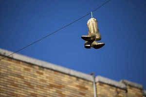 Electricity Plans Finding Best Rates | image of boots on wire