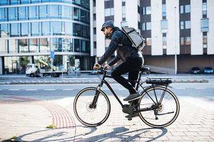 Emissions Cut in UK | Biker Riding