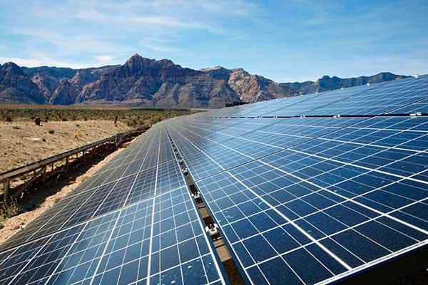 California Solar Power Plant