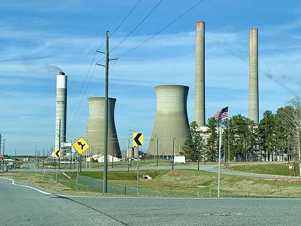 Carbon Capture Industrial Energy Plant