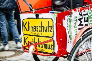 Climate Law Deficient German sign