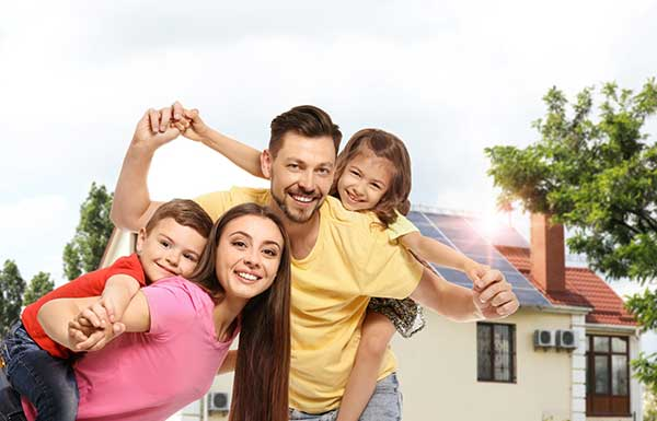 Electrical Provider Choice | Image of Happy Family