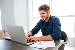 Deregulation Inquiry | Man Searches Internet